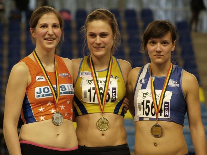 Sofie Van Accom, brons op de 1500m
