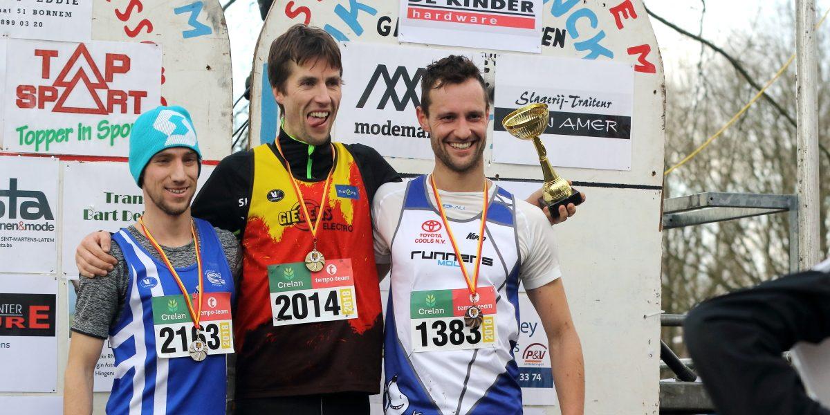 Prima prestaties op provinciale kampioenschappen veldlopen