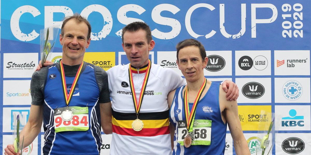 Belgische kampioenschappen veldlopen voor masters