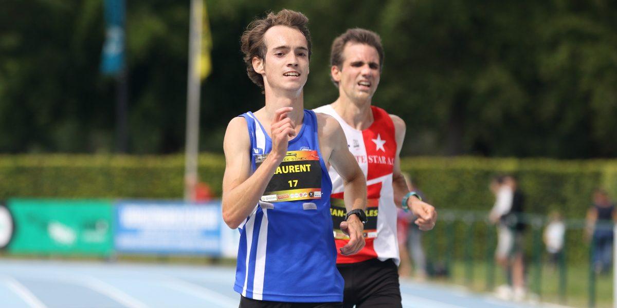 Knappe prestatie van Vincent en Laurent op BK 10km
