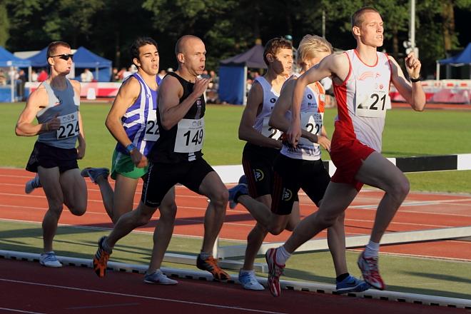 Alex Van De Vel De Sousa, B-reeks 800m, Nijmegen