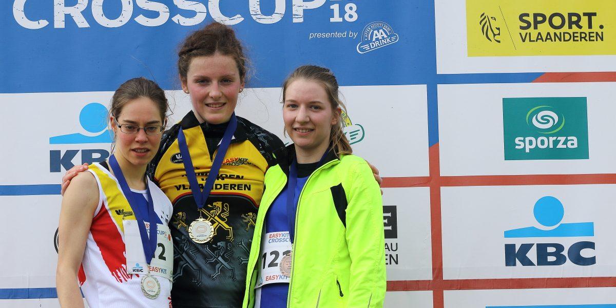 Twee keer brons op Vlaamse veldloopkampioenschappen