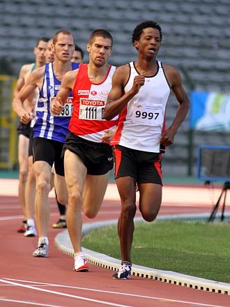 Tom Van Rooy in de 1500m van het BK