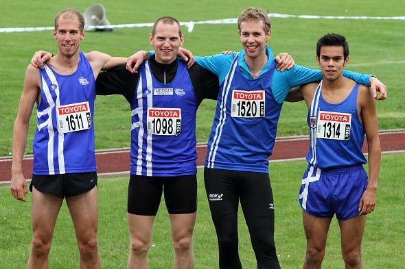 Thomas Thys, Tom Van Rooy, Maarten Verbiest, Brian Van den Bossche