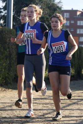Elise Peeters en Anke Govaerts