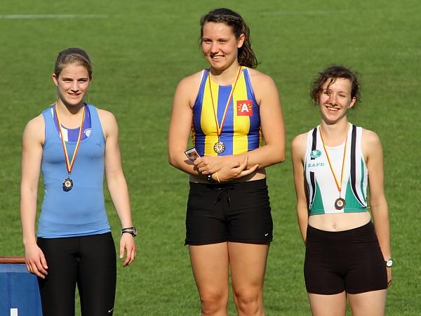 Tine Spiessen, zilver op de 400m