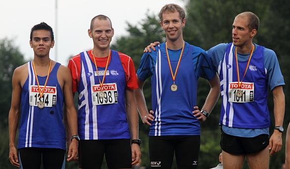 Brian Van den Bossche, Tom Van Rooy, Maarten Verbiest, Thomas Thijs